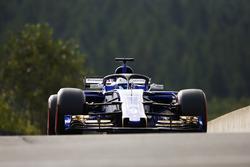 Marcus Ericsson, Sauber C36, wit ahlo