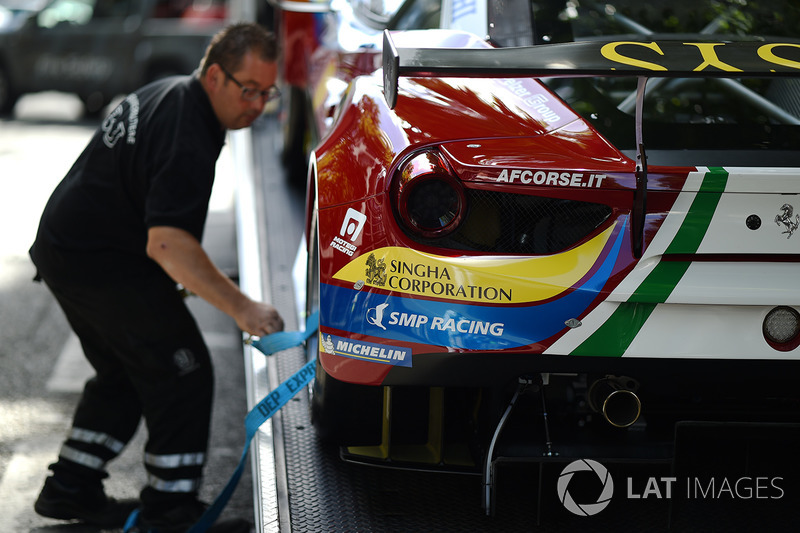 №71 AF Corse Ferrari 488 GTE: Давиде Ригон, Сэм Бёрд, Мигель Молина