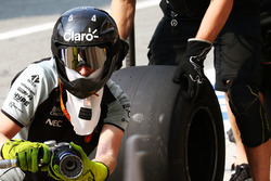 Sahara Force India F1 Team відпрацьовує піт-стоп