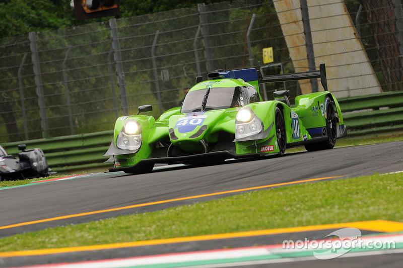#40 Krohn Racing, Ligier JS P2 - Nissan: Nic Jonsson, Bjorn Wirdheim, Olivier Pla