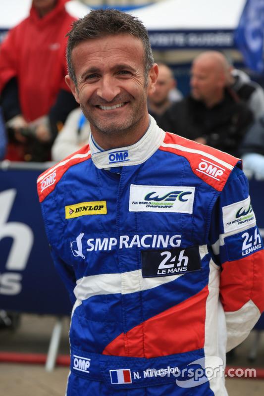 #27 SMP Racing BR01 Nissan: Ніколя Мінассян