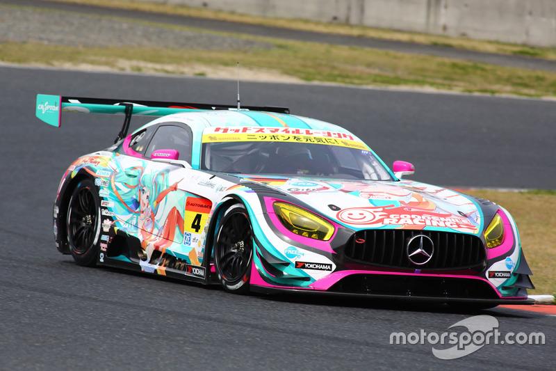 4 Goodsmile Racing Amp Team Ukyo Mercedes Sls Amg Gt3