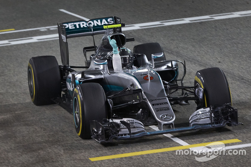 Победителем Гран При Бахрейна стал Нико Росберг