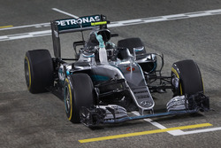 Race winner Nico Rosberg, Mercedes AMG F1 Team W07