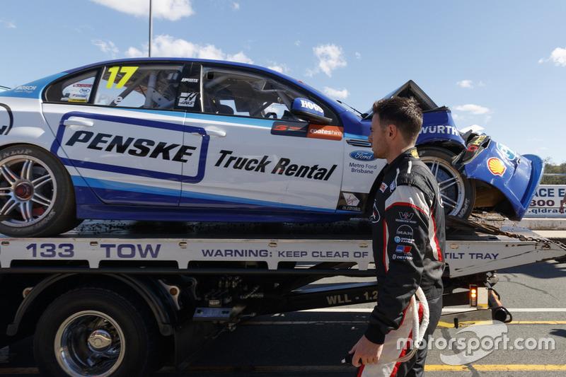 Das Unfallauto von Scott Pye, DJR Team Penske