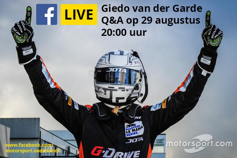 Live Facebook Q&A met Giedo van der Garde