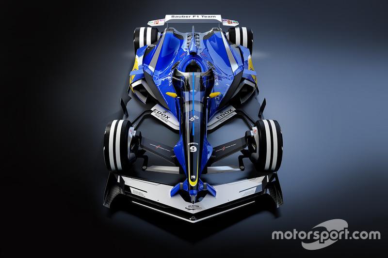 索伯车队2030年幻想设计