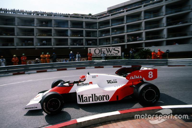 1984 - Lauda se convierte en triple campeón por muy poco