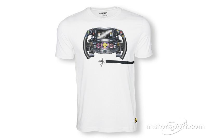 T-shirt Giorgio Piola - Volant Ferrari 2016