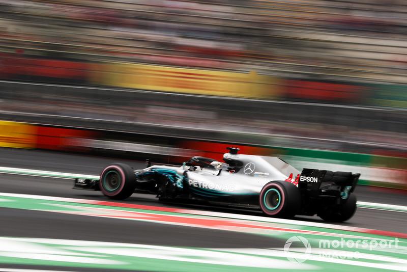 3. Lewis Hamilton, Mercedes AMG F1 W09 EQ Power+