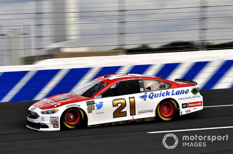 22. Paul Menard, Wood Brothers Racing, Ford Fusion Motorcraft / Quick Lane Tire & Auto Center