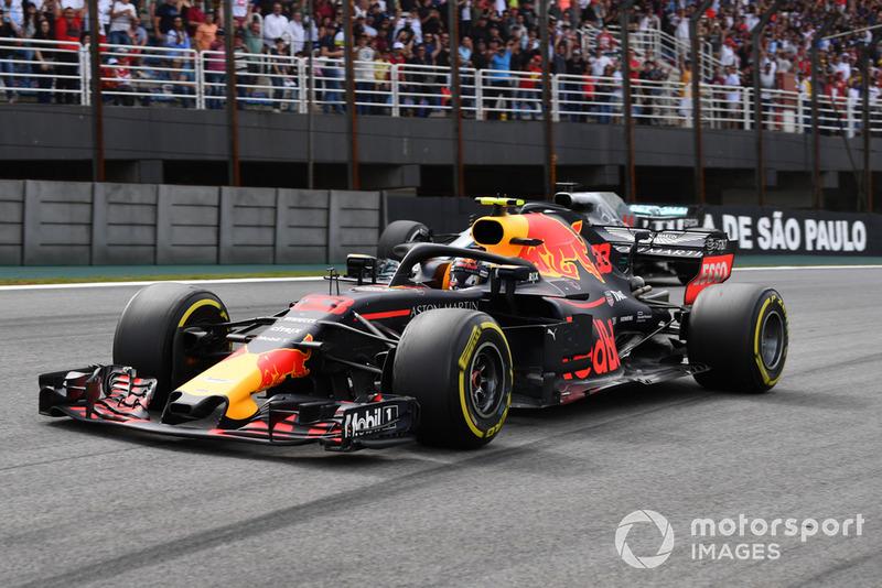 GP de Brasil: Max Verstappen: (2º en carrera)