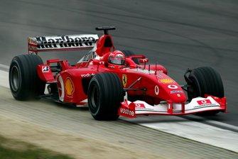 Міхаель Шумахер, Ferrari F2003-GA