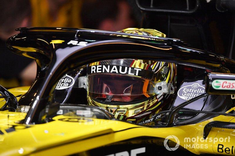 Artem Markelov ha sido piloto de desarrollo de Renault y ha disputado test en 2018, aunque su continuidad para 2019 está en duda por problemas familiares.