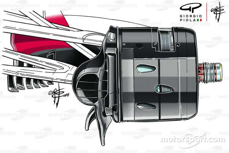 Повітроводи гальм Ferrari SF71H