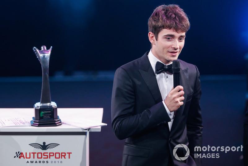 Rookie de l'année : Charles Leclerc