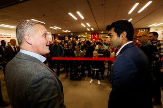 Johnny Herbert, Karun Chandhok and Billy Monger open the Show on Sunday