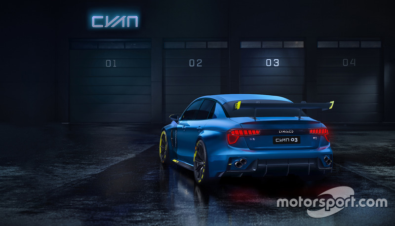 Lynk & Co TCR by Cyan Racing