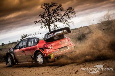 Test de Sebastien Ogier con Citroën en Portugal
