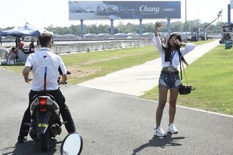 Fan am Chang International Circuit in Buriram