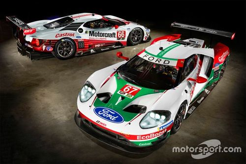 For Chip Ganassi Racing livery unveil