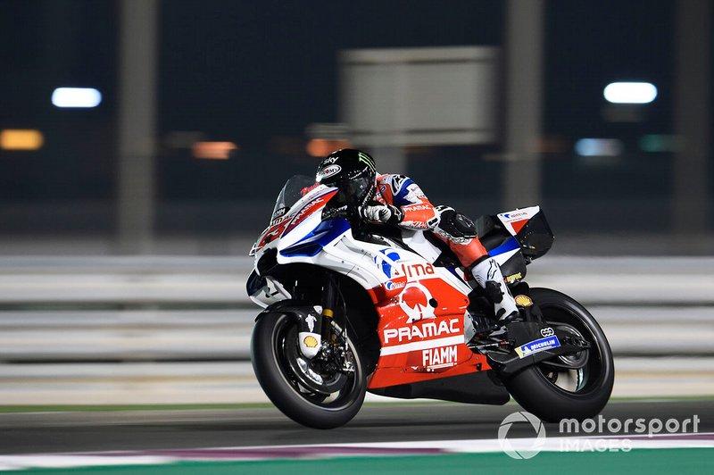 13º Francesco Bagnaia, Pramac Racing - 1:55.074