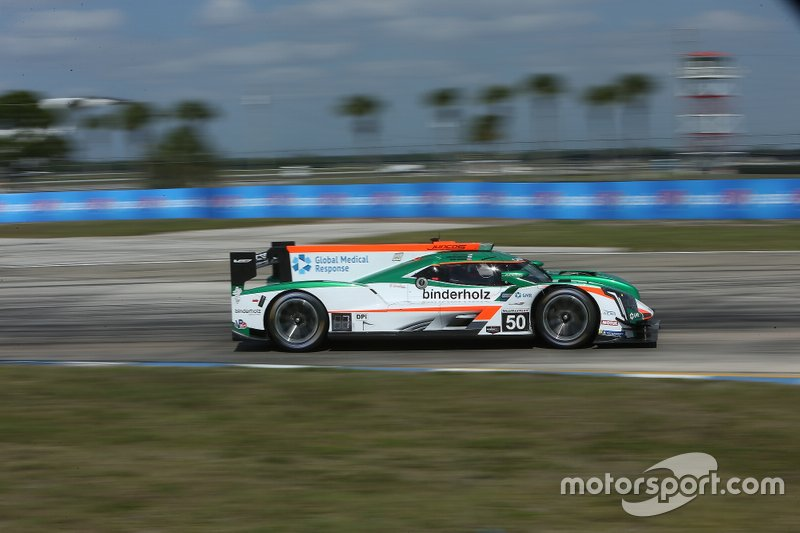 #50 Juncos Racing Cadillac DPi-V.R of Will Owen, Rene Binder, Agustin Canapino at 12 Hours of Sebring.