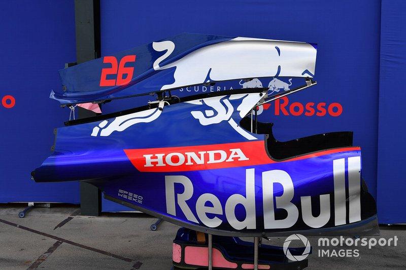 Toro Rosso STR14: tampa do motor