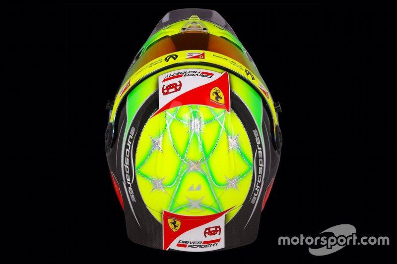 Helm von Mick Schumacher, Prema Racing