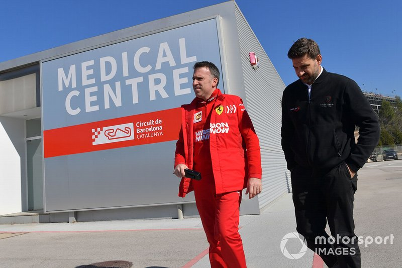 Personale Ferrari al Centro Medico