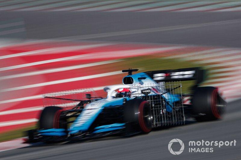 Robert Kubica, Williams FW42 con sensores aerodinámicos
