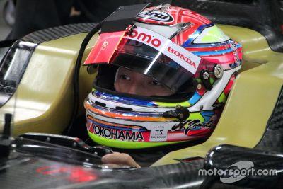 Super-Formula-Test für 2019 in Fuji