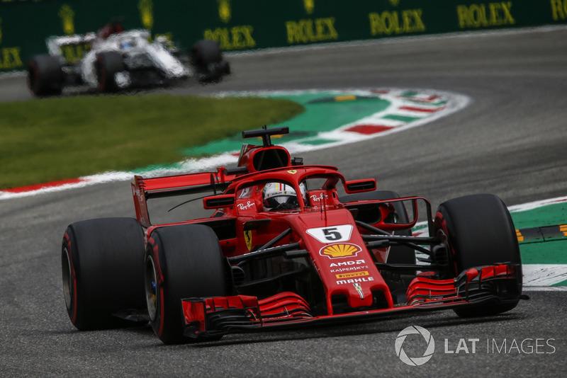 2: Sebastian Vettel, Ferrari SF71H, 1'19.280