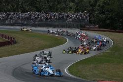 Старт: лідирує Сімон Пажно, Team Penske Chevrolet