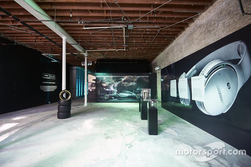 Bose F1 Garage Experience