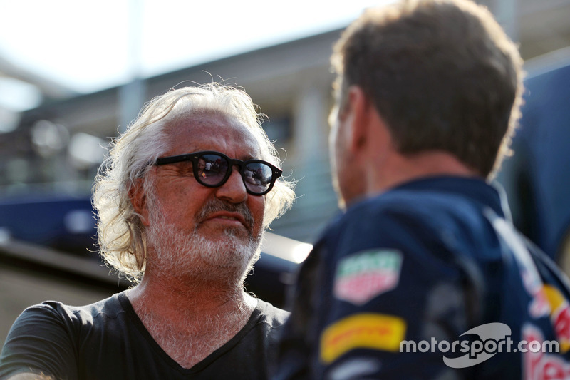 Flavio Briatore ve Christian Horner, Red Bull Racing Takım Patronu
