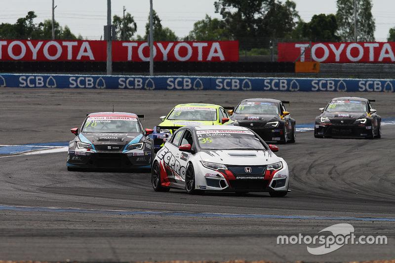 Rafael Galiana, West Coast Racing, Honda Civic TCR
