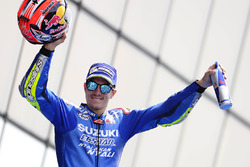 Podium: third place Maverick Viñales, Team Suzuki MotoGP