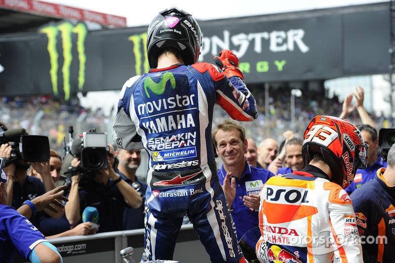 Pole, Lorenzo comemora o feito deste sábado