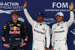 Поул – Льюис Хэмилтон, Mercedes AMG F1 W07 , второй – Нико Росберг, Mercedes AMG Petronas F1 W07, третий – Макс Ферстаппен, Red Bull Racing RB12