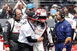 #5 Toyota Racing Toyota TS050 Hybrid: Kazuki Nakajima met Rob Leupen, Toyota Motorsport na het valle
