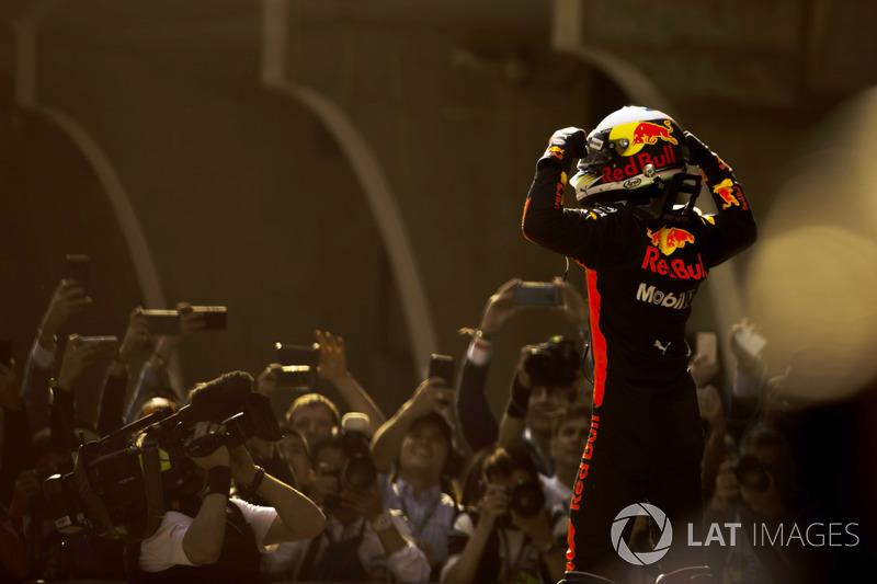 Vainqueur : Daniel Ricciardo (Red Bull Racing)