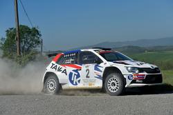 Giacomo Costenaro, Justin Bardini, Skoda Fabia R5, Hawk Racing Club