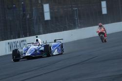 Такума Сато, Andretti Autosport Honda, и Марк Маркес, Repsol Honda Team