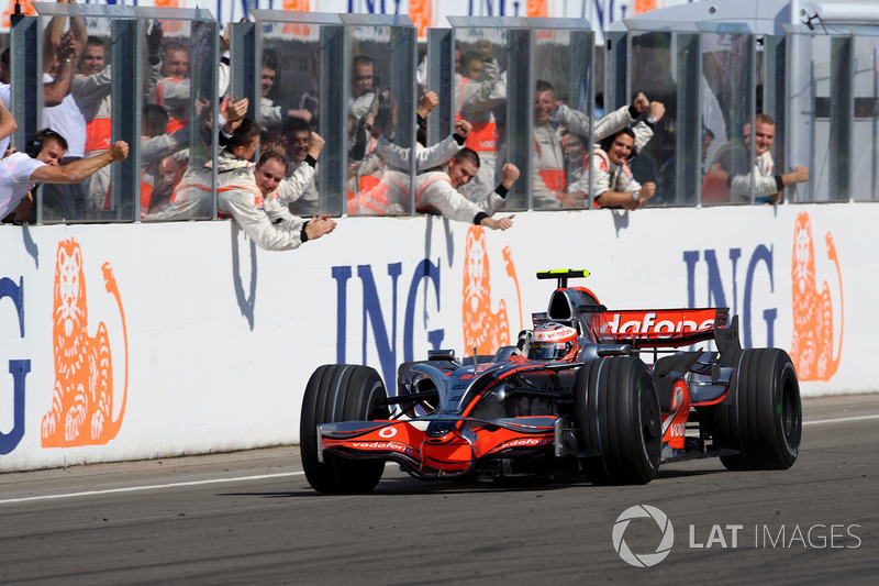 Хейккі Ковалайнен (McLaren) - Угорщина, 2008