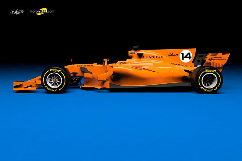 5. McLaren Renault 2018 concept
