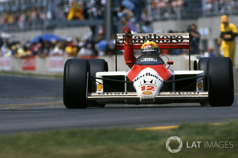 1988 Kanada: McLaren MP4/4