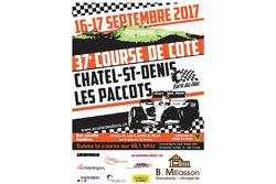 Rallye du Chablais, affiche 2018