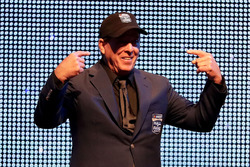 NASCAR Hall of Fame inductee Ron Hornaday Jr.