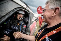 #317 X-Raid Team Mini: Boris Garafulic, Filipe Palmeiro with Sven Quandt